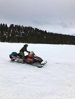 Lincoln Montana Snowmobiling