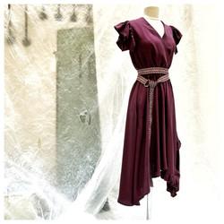Robe croisée Lila 2