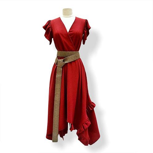 Robe Croisée Tuile