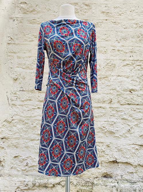 Robe drapée mosaïque