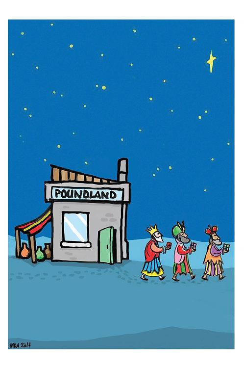 'Discount Christmas' Christmas card