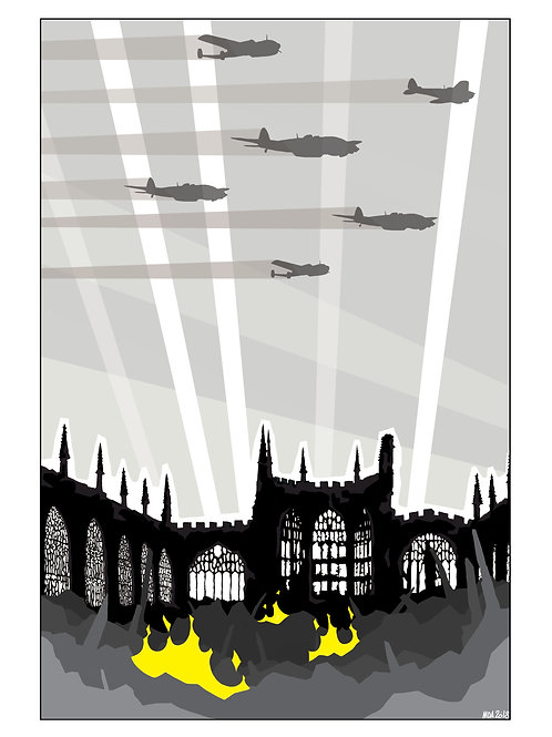 'Coventry Cathedral' illustration