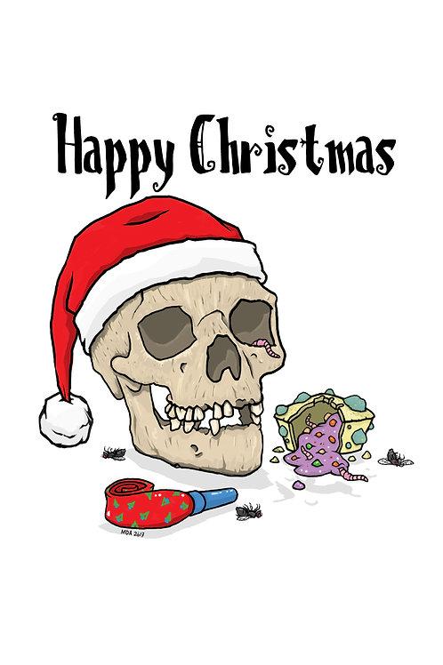 Christmas Card - 'Rubbish Christmas'