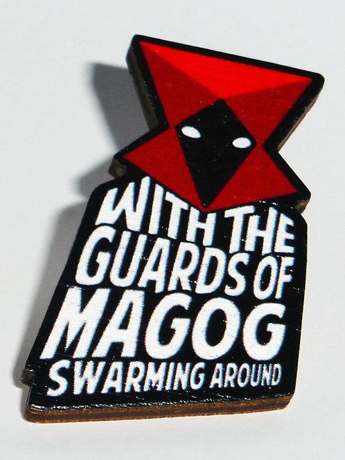 Genesis - 'Magog' pin-badge