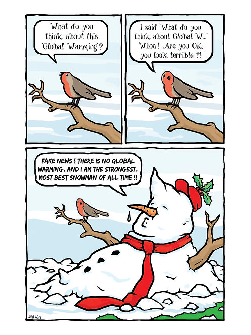 'Make Christmas Great Again' Christmas card
