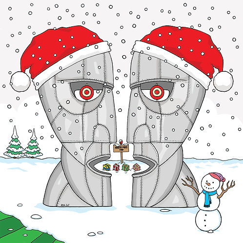 Pink Floyd - 'Division Bell' Christmas card