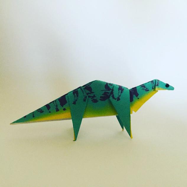 A Roccosaurus. A really rather tiny really big dinosaur.