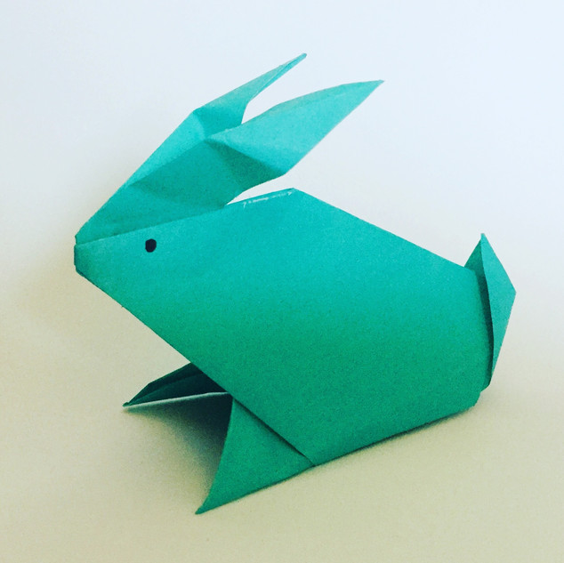 An Easter bunny. One of the first animal models I attempted.