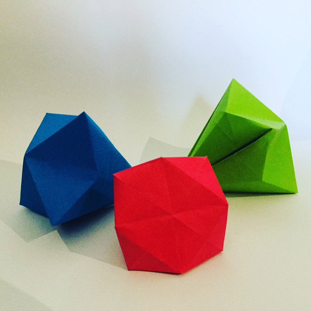 Priceless jewels. Who said you can't get rich making origami ??