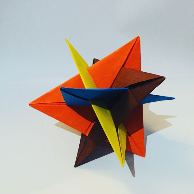 A Kusudama WXYZ. Do the 'WXYZ' refer to planes of geometry ... ? Are 'planes of geometry' an actual thing ?