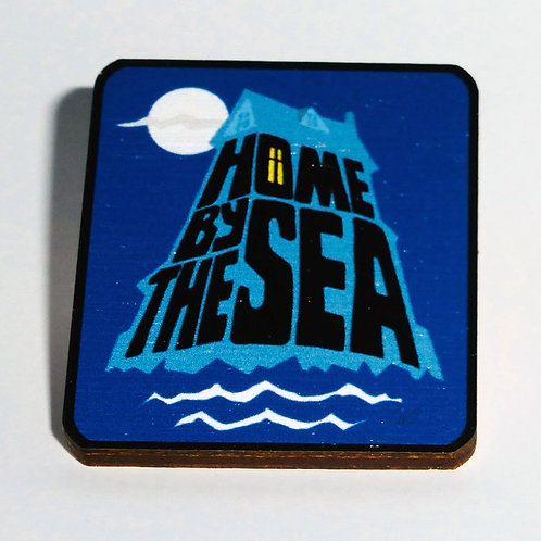Genesis - 'Home By the Sea' pin-badge