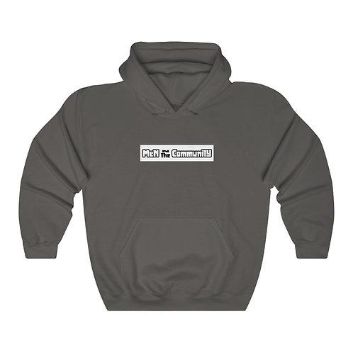 Men in the Community  Heavy Blend™ Hooded Sweatshirt