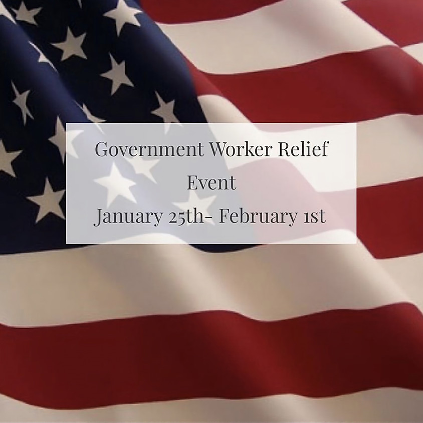 Government Worker Relief