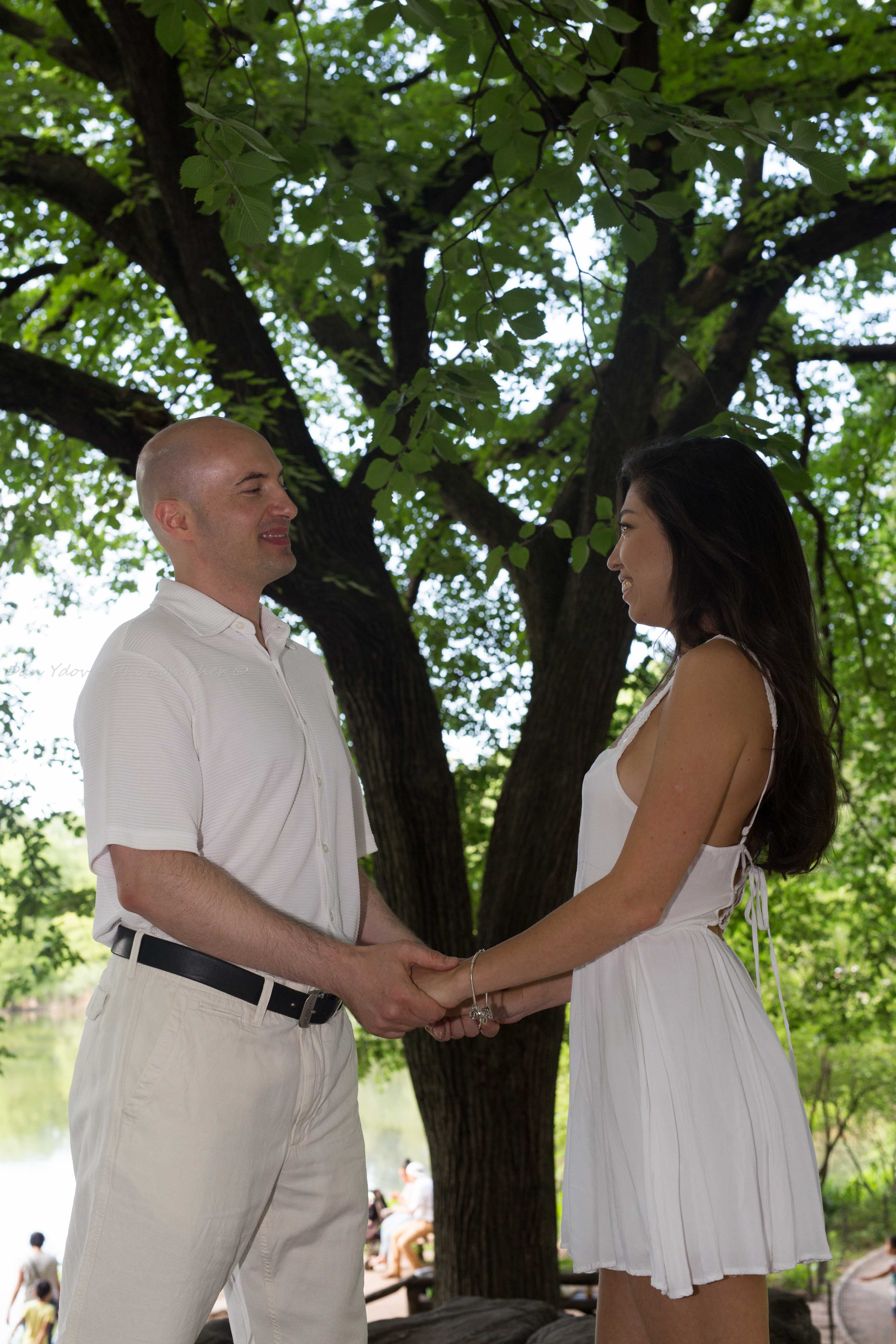 צילומי סיפור אהבה, יורי ויוליה