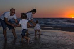 Family Fun,Portraiture at the beach