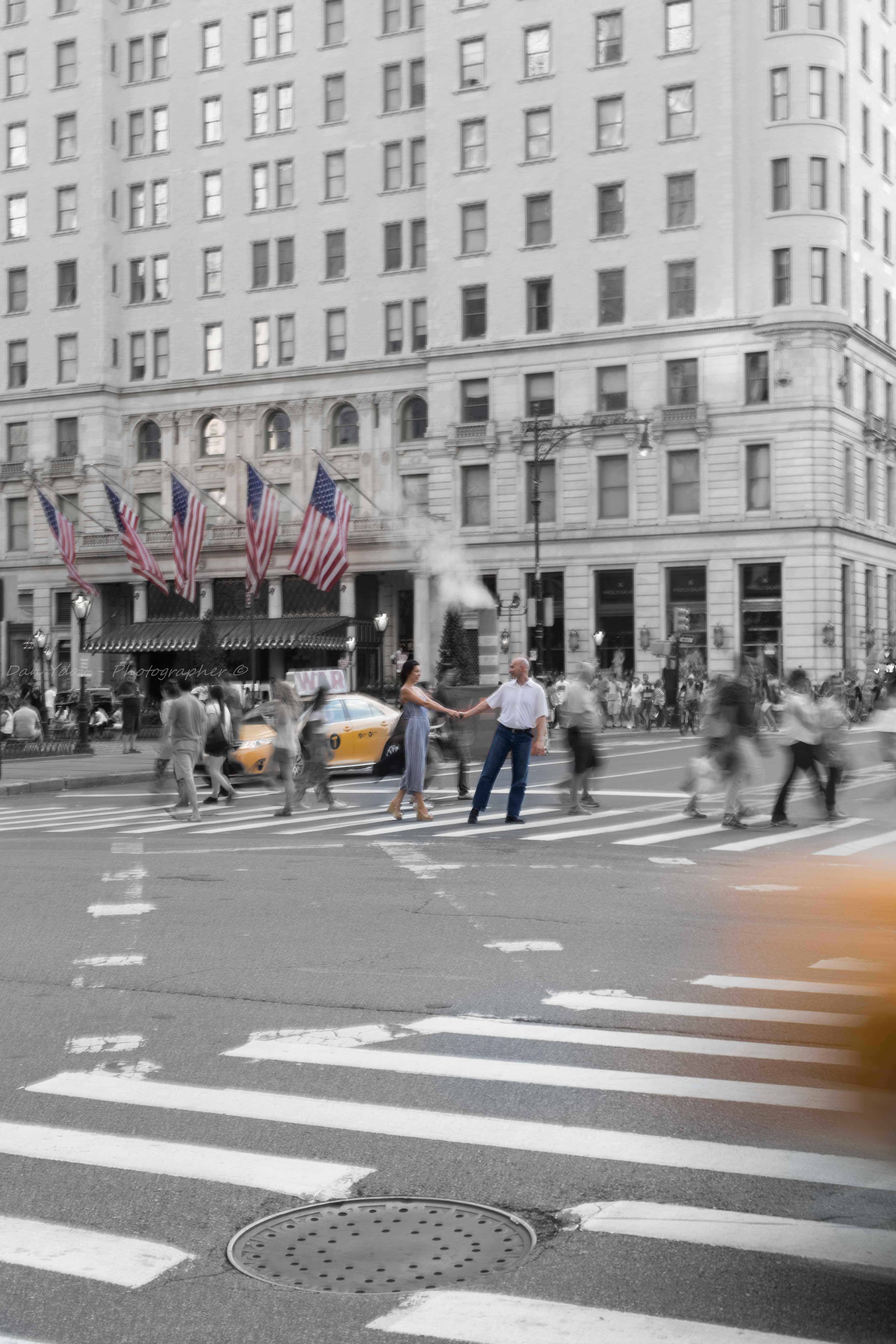 צילומי זוגיות, ניו יורק