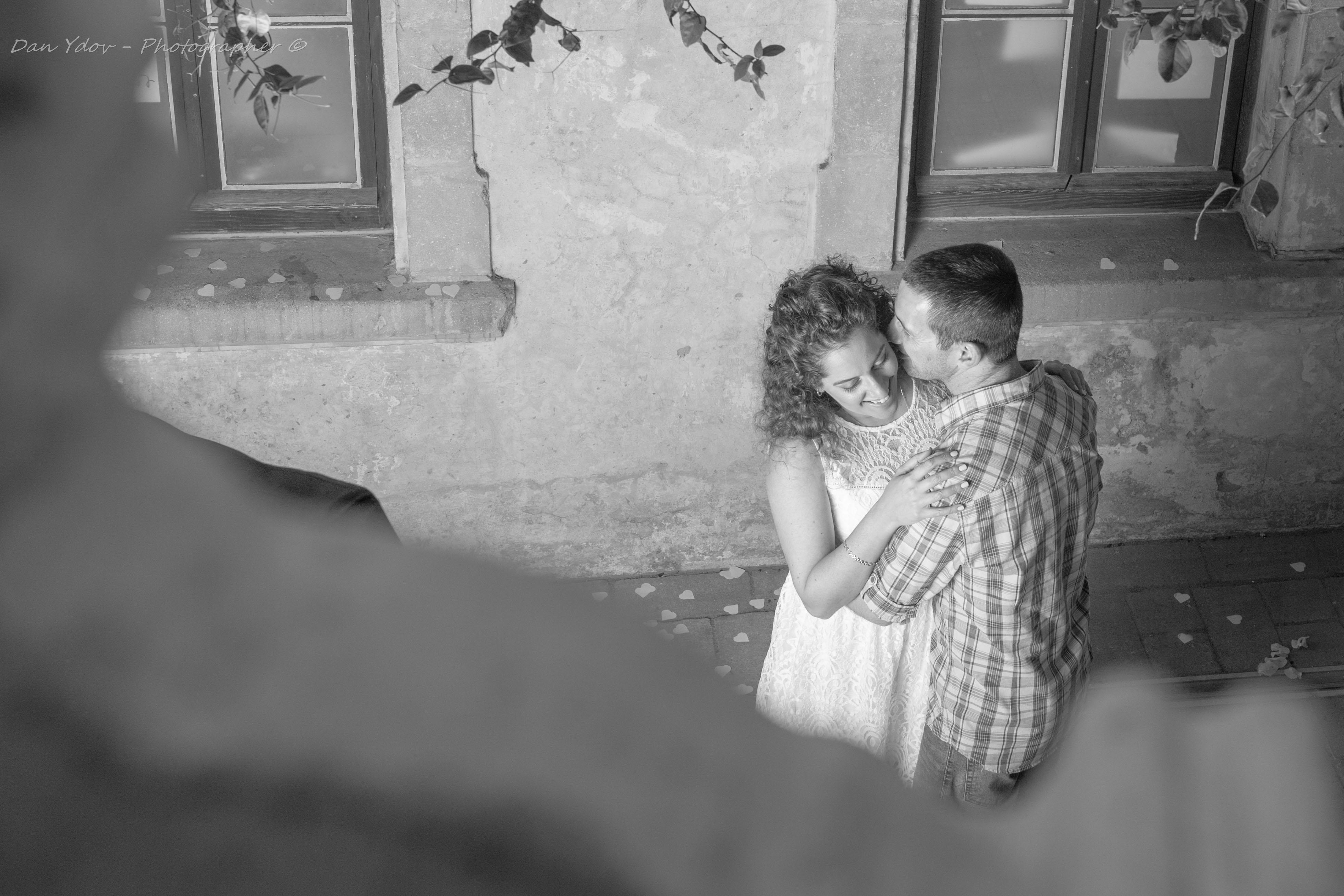 צילומי זוגיות, סיפור אהבה, עדי ורועי