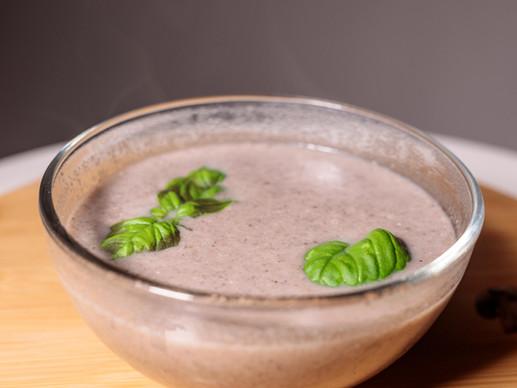 מרק פטריות מוקרם