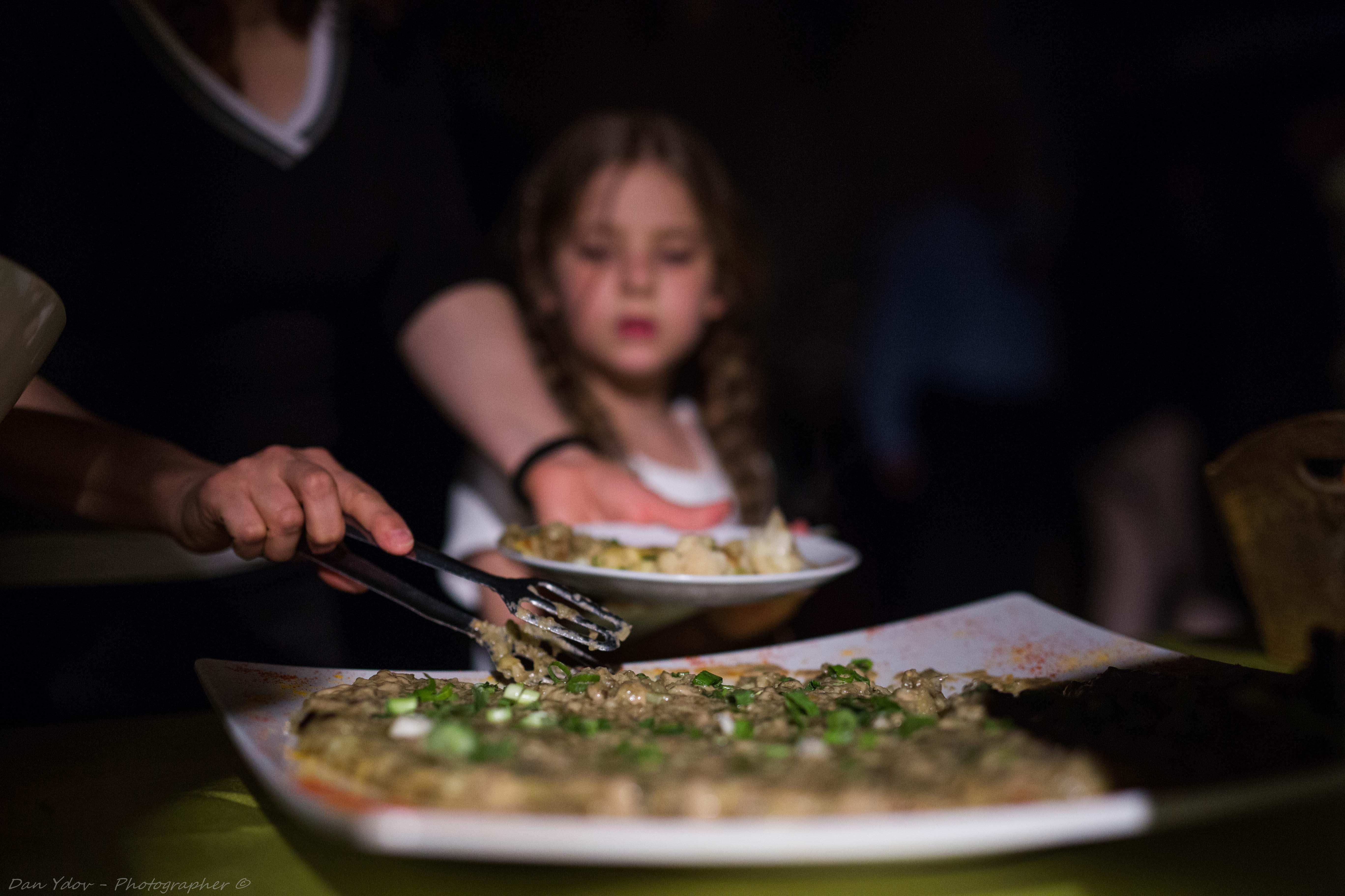 צלם אירועים במרכז, אוכל