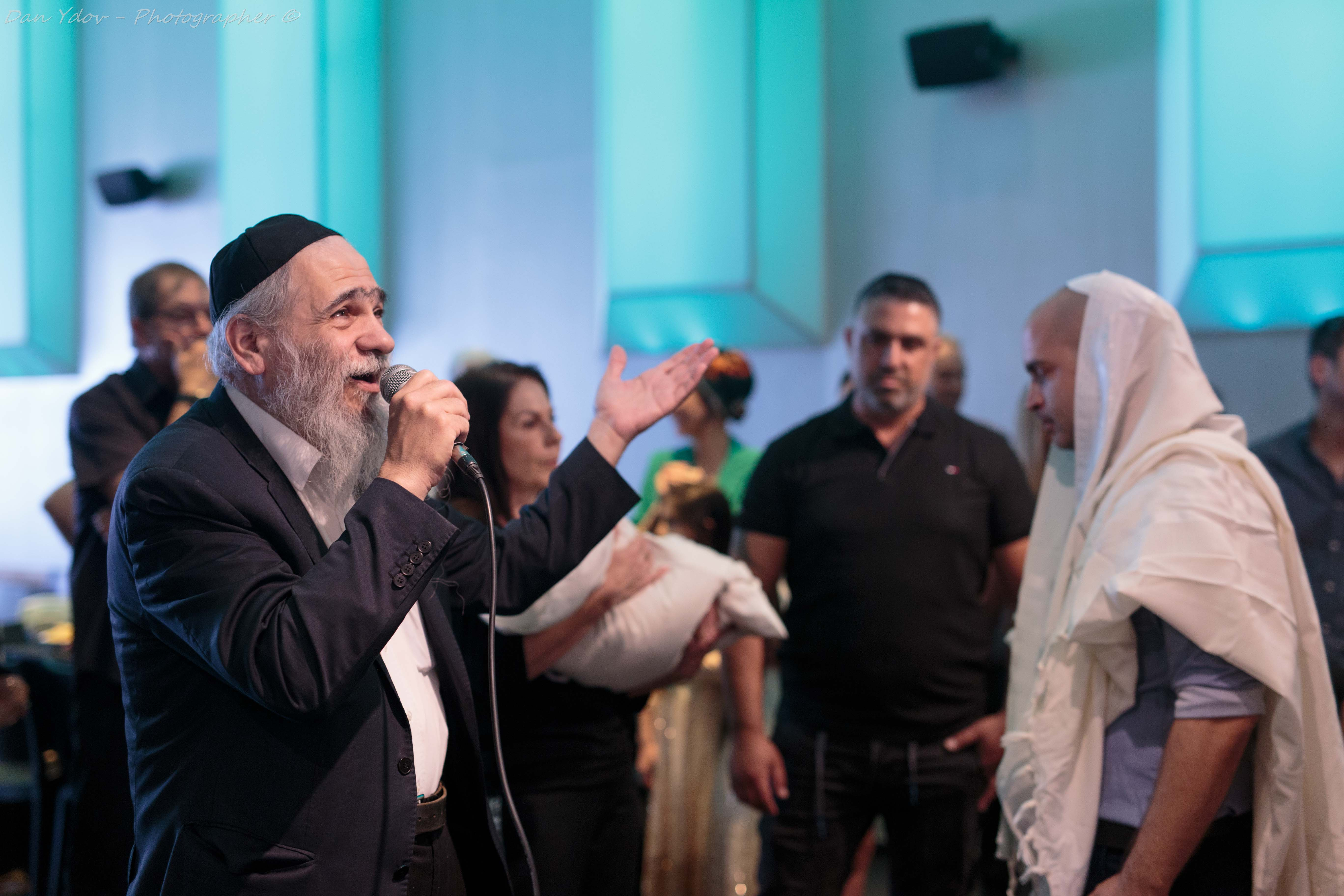 Event photography, Dan Ydov, Rabbi