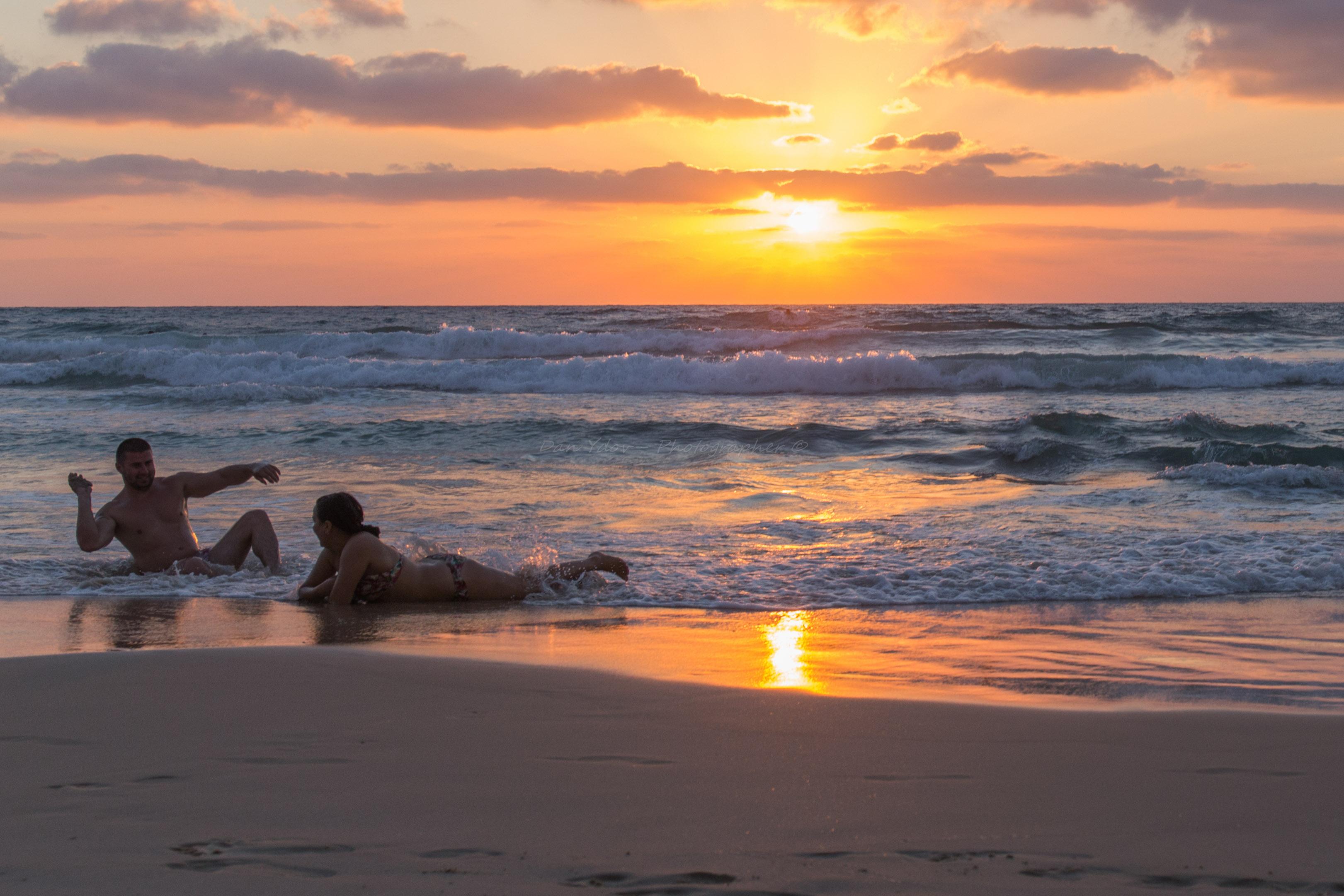 צילומי זוגיות, אהבה בים