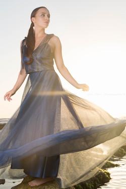 Model, Polina, fashion photo set