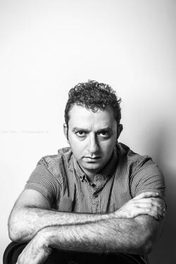 Man studio Portrait, Daniel