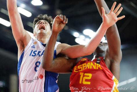 Israel U20, Deni Avdia, Dunk, Basketball, Dan Ydov, Sport photographer, Sports, Football