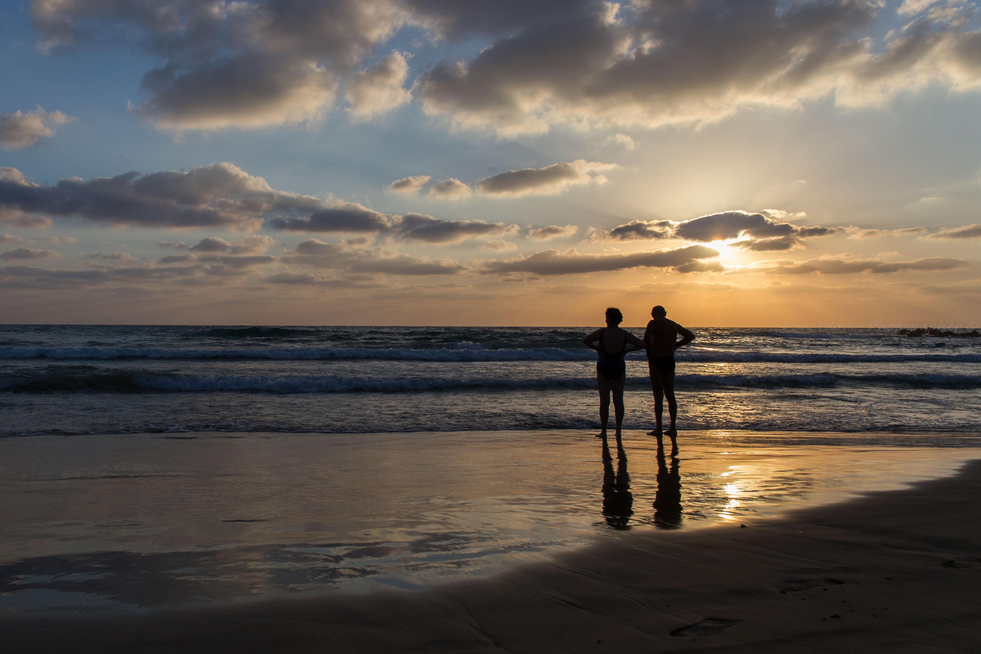 צילומי זוגיות, סיפור אהבה בים