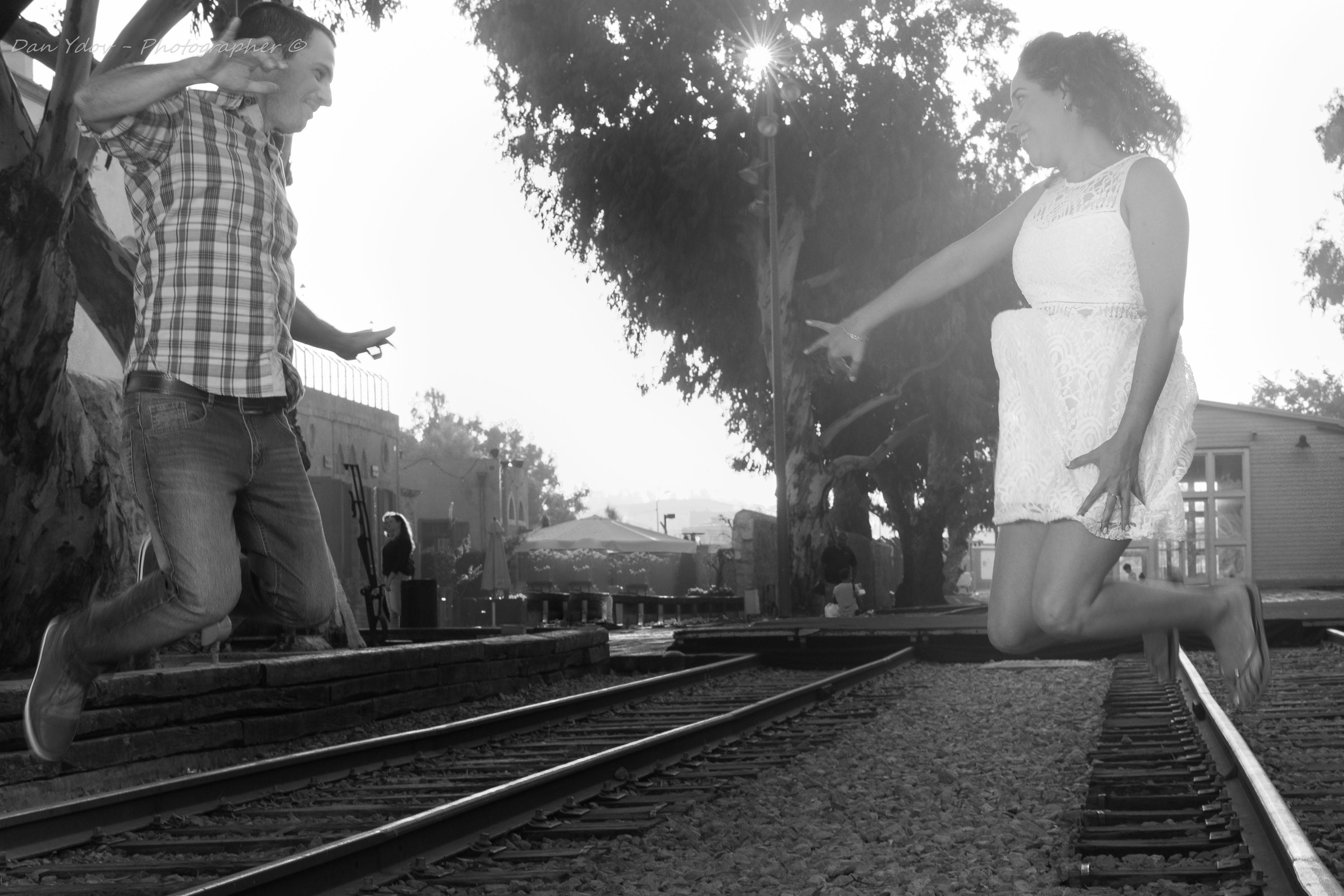 צילומי זוגיות, אהבה ברכבת, עדי ורועי