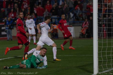 sports photography, Hapoel Beer Sheva FC, Goal,Dan Ydov, Sports Photographer