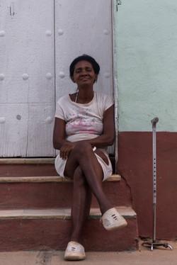 Woman Portrait in Cuba