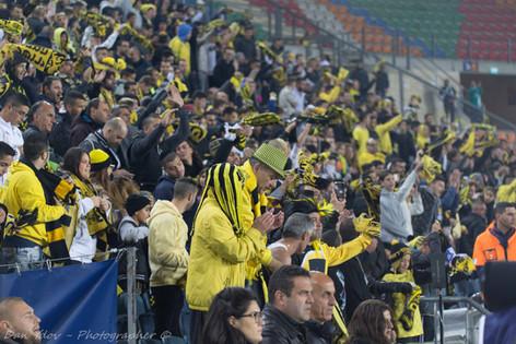 sports photography, Beitar Jerusalem, Fans, Yellow Army