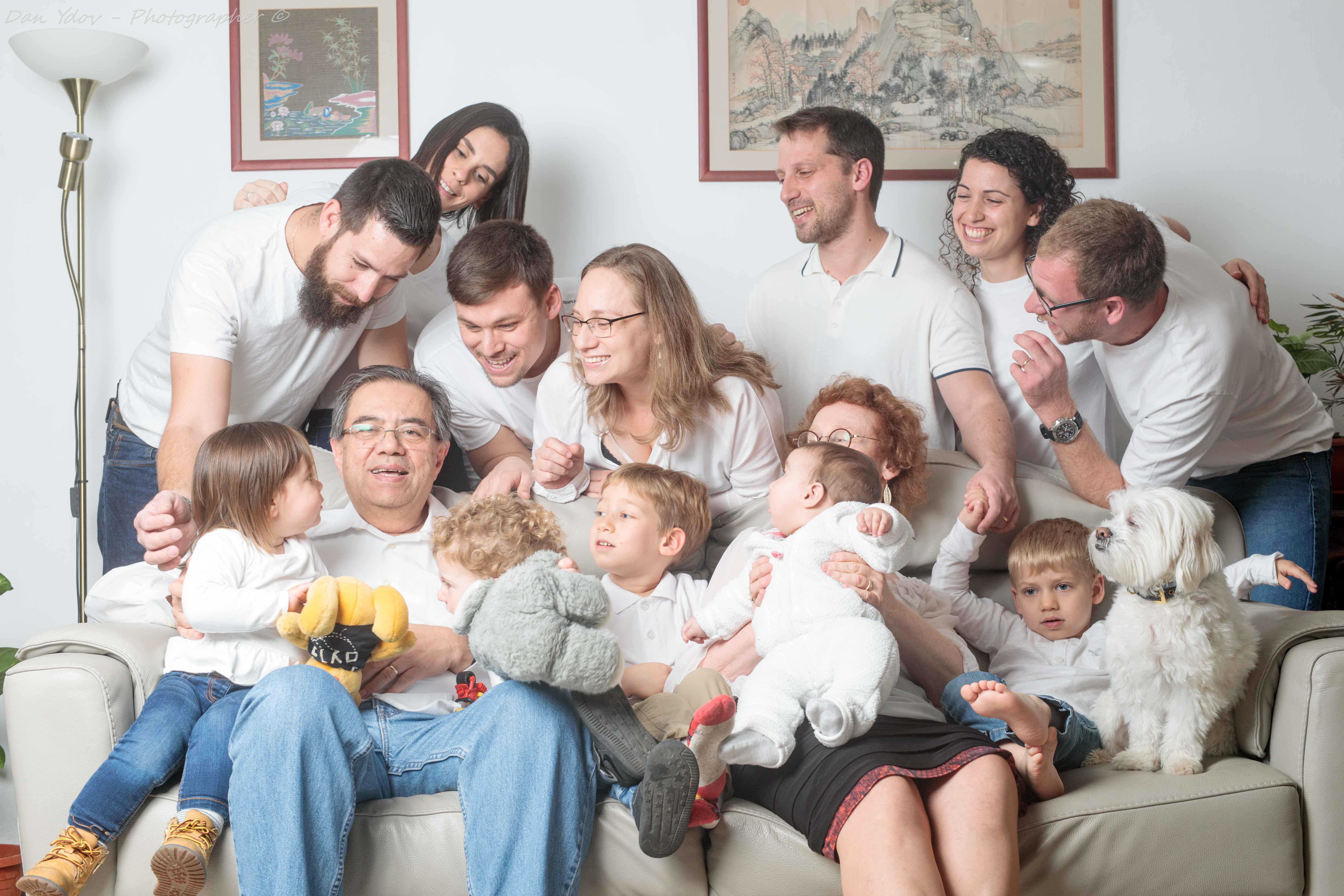 משפחה מורחבת, צילומי משפחה צלם משפחה