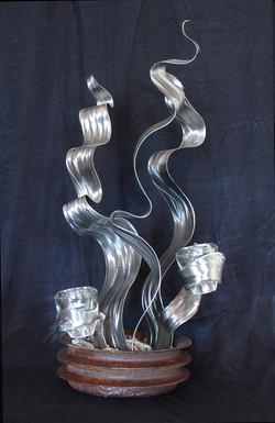 Wave candelabra