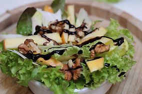 Be Silly pistolet burger Salade Healthy