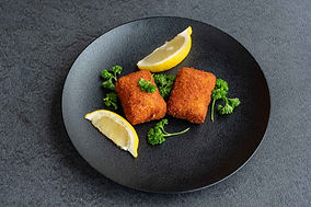Be Silly pistolet burger cheese croquettes