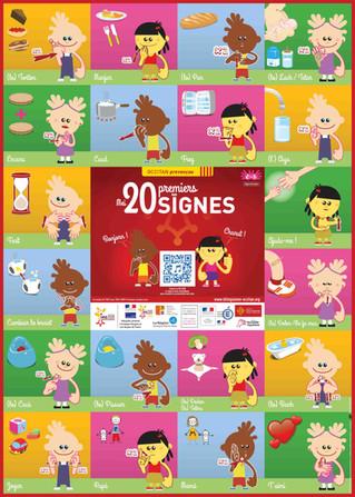 Communication gestuelle : écouter les 20 premiers signes en provençal