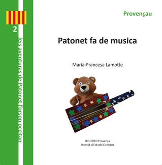 4 histoires de Patonet éditées par l'IEO-CREO Provença