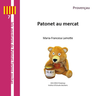 L'IEO CREO Provence édite 2 nouvelles aventures de Patonet