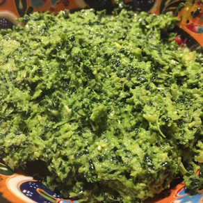 Kale and Fennel Chutney