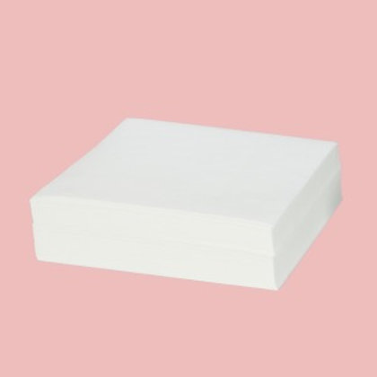 "100% Cotton High Absorption Cleanroom Wipes 5 x 5"", 100 Sheets/Box"