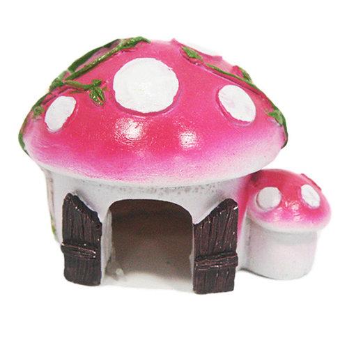 Betta Small Pink Mushroom House