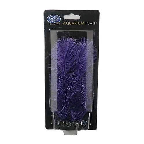 Betta Choice Plastic 20cm Purple Plant