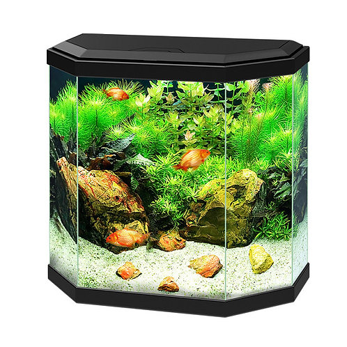 Ciano Aqua 30 Aquarium With LED Light - Black POSTAGE UNABLE DUE TO BEING GLASS