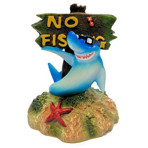 Shark No Fishing Sign