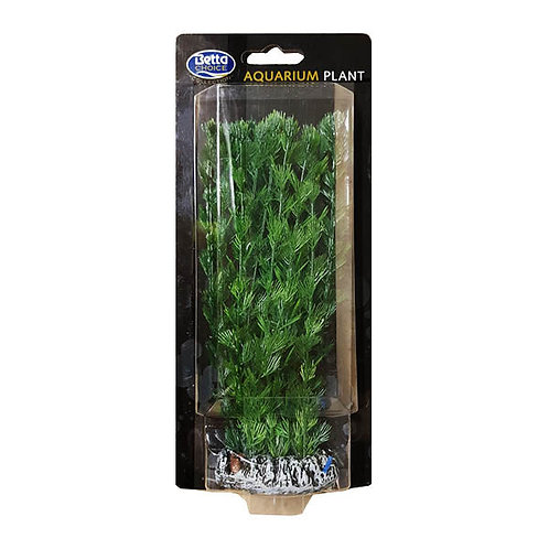 Betta Choice 20cm Silicone Green Plant