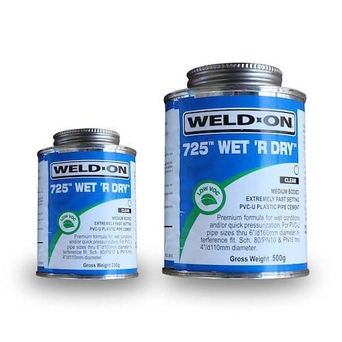 Solvent Weld Wet 'R Dry