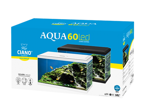 AQUA 60 postage unable due to being glass