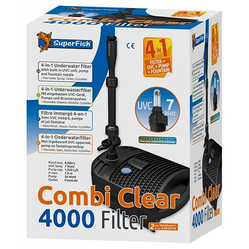 Superfish Combi Clear 4-in-1 Pond Filter UVC